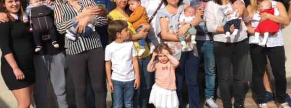 Six nouveaux bébés à l'honneur…