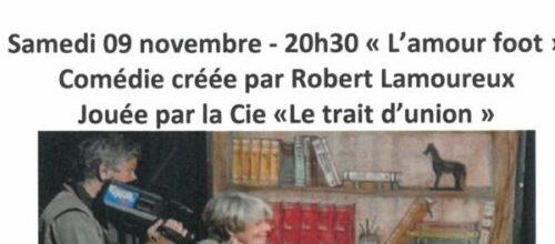 COMÉDIE «L'AMOUR FOOT»