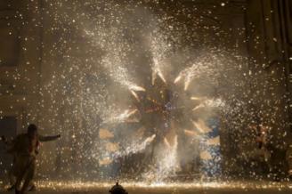 spectacle pyrotechnique mairie saint-savournin 13 juillet 2020