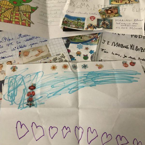Lettres enfants Père Noël Mairie Saint Savournin