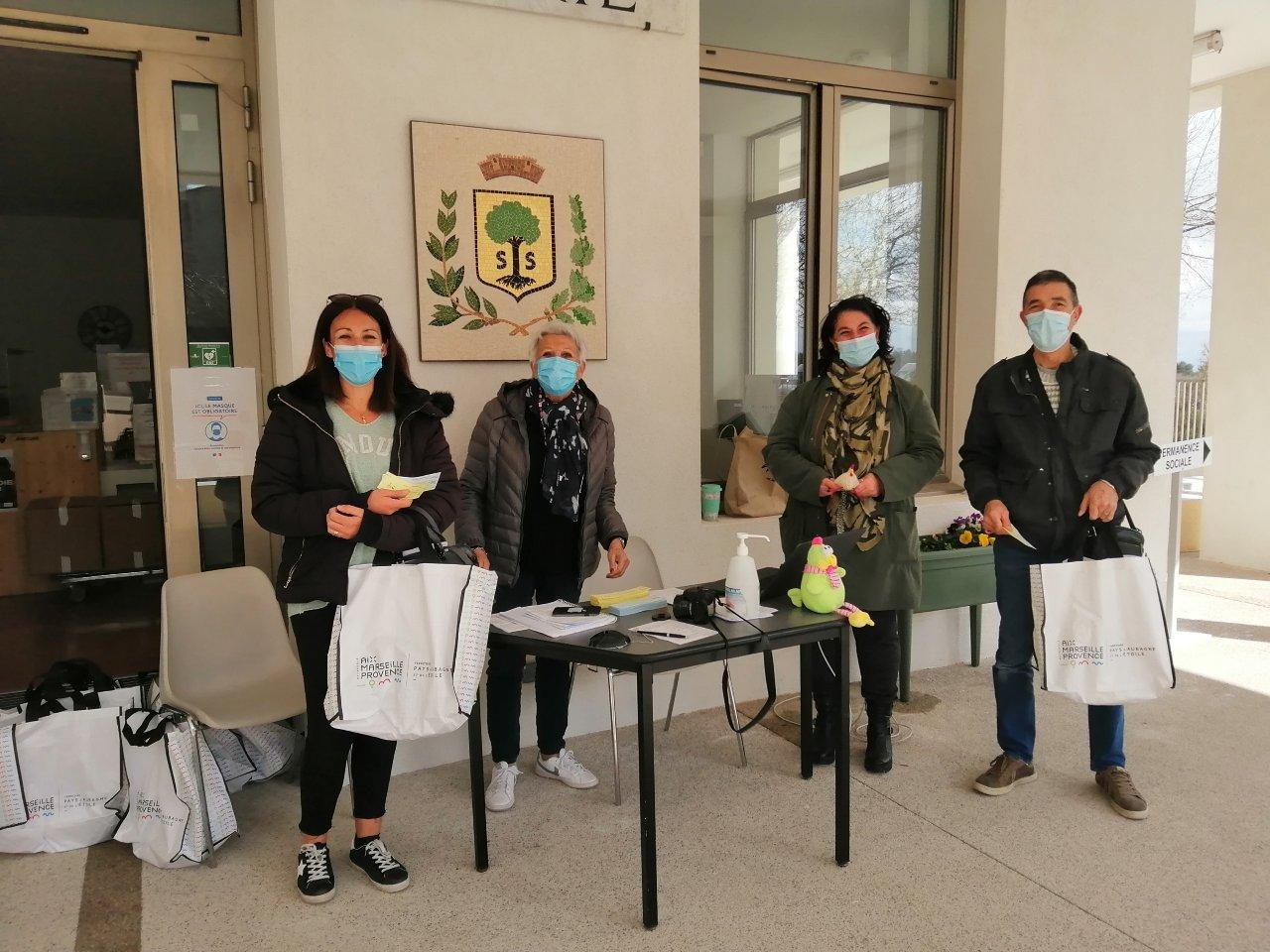 Mairie-Savournin distribution kit zéro déchets réservation de poules Environnement Ecologie