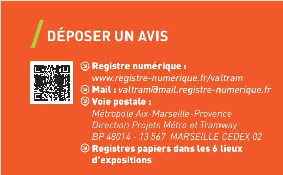 Mairie Saint-Savournin Val'Tram concertation publique déposer un avis