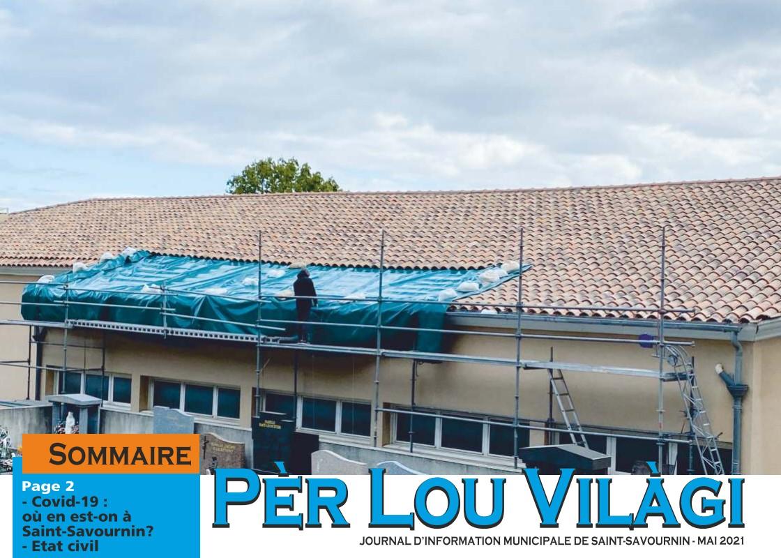 Mairie Saint-Savournin Per lou vilagi mai 2021