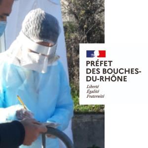 mairie Saint-Savournin fin port du masque en extérieur et tests antigéniques 12 juillet 2021
