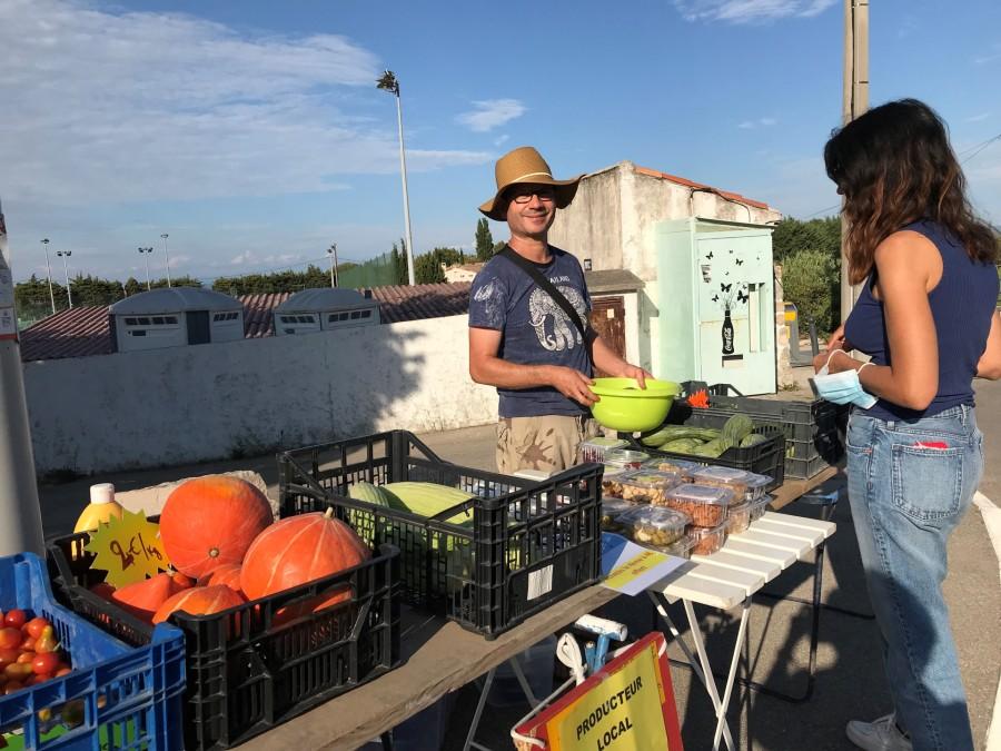 Mairie Saint-Savournin Campagne Julia - vente fruits et légumes mardis et jeudis 17h - 19h stade Gérard Roux