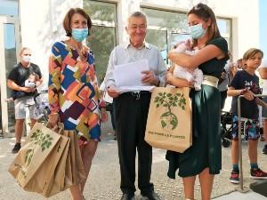 Mairie de Saint-Savournin nouveaux bébés septembre 2021