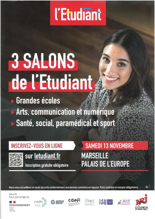 Mairie Saint-Savournin salons-etudiants-marseille-13nov2021 Marseille